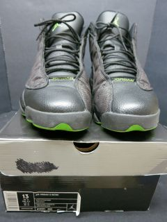 AIR JORDAN RETRO 13 ALTITUDE GREEN BLACK 13 VNDS OG PLAYOFF FLINT 2010