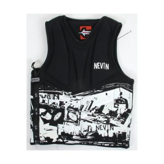 Nevin Team Swat CGA Wakeboard Vest Black 40 80% off