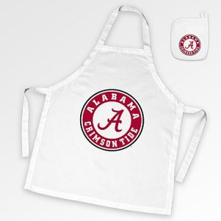 Alabama Crimson Tide Tailgate Apron and Potholder Set