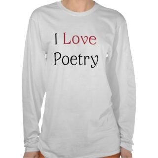 Love Poetry Ladies Hoodie (Front Design)