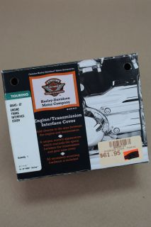 Harley Davidson Chrome Engine Trans Interface Cover 2007 Later Touring
