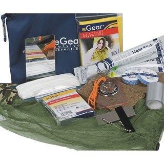 eGear Deluxe Survival Kit   Save 35%