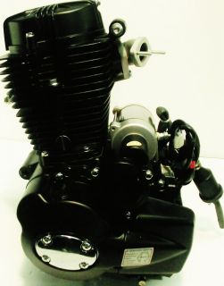 NEW Zongshen BLACK ENGINE 250cc 4 STROKE 5 SPEEDS GIO DIRT BIKE CRF