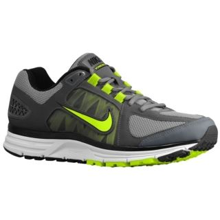 Nike Zoom Vomero + 7   Mens   Running   Shoes   Cool Grey/Volt/Dark