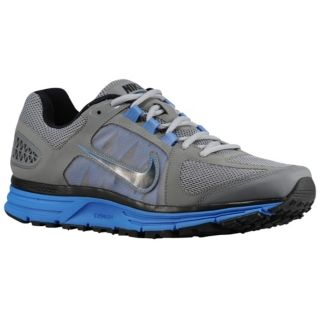 Nike Zoom Vomero + 7   Mens   Running   Shoes   Wolf Grey/Signal Blue