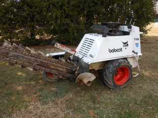 T116 Walkbehind Trencher Only 88 hours 4 foot Chain Onan 16 HP Engine
