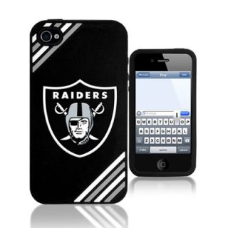 Oakland Raiders Logo 3D Silicone iPhone 4/4S Case