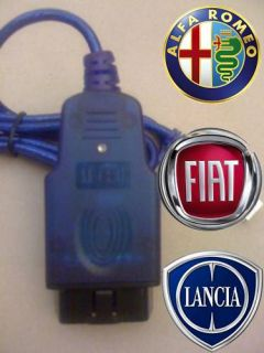 FIATECUSCAN FIAT ALFA ODB2 USB DIAGNOSTIC CABLE VAG AIRBAG ENGINE