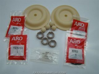 ARO 1 2 Diaphragm Pump Rebuild Kit 66605X X