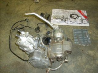Honda CR125 CR 125 Complete 140 Big Bore Motor Engine Cylinder Crank