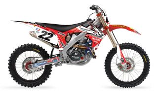 REED 22 MOTORSPORTS GRAPHICS KIT HONDA CR 125 250 CR125 CR250 2002 08