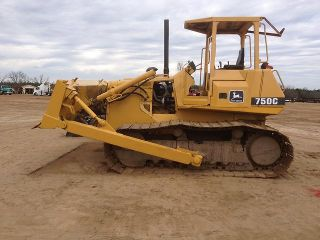 John Deere 750C Track Crawler Dozer Loader Cat Caterpillar Case