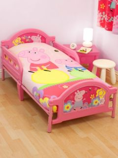 Peppa Pig George Adorable Junior Cot Safety Bed Headboard Guard Rails