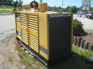 CAT CATERPILLAR 175 GEN SET KVA 175 CAT 3208 DIESEL ENGINE 3 PHASE 12