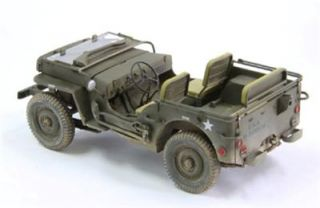 FINE MOLDS 82001 US ARMY 1/4 ton 4x4 TRUCK 1:20 FS GMS CUSTOMS HOBBY