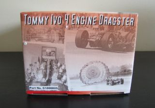 GMP Tommy Ivo 4 Engine Dragster G1800809 Mint 1 18 Diecast Car Model