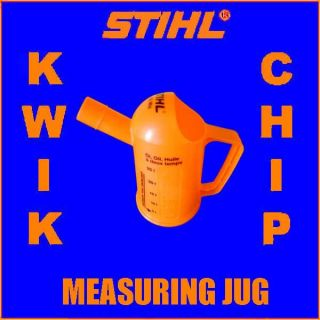 Stihl Chainsaw Engine Two 2 Stroke Oil Measuring Jug Large Beaker