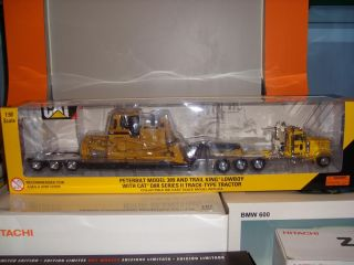 50 Scale Peterbilt 389 Truck Trailer Cat D8 Dozer