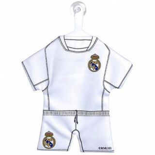 Real Madrid Football Club Spain Kit Crest Car Mirror Pennant