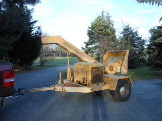 1984 Woodchuck Chipper Heavy Duty Ford Engine Trailer Mounted