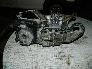 Harley 1000 CC Ironhead Sportster Engine Cases & Crankshaft Assembly