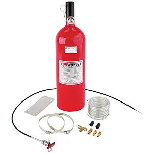 Fire Bottle RC 1000 Fire Safety System with 10 lbs Bottle