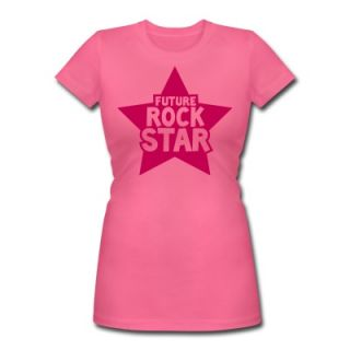 future rock star in pink T Shirt 9994962