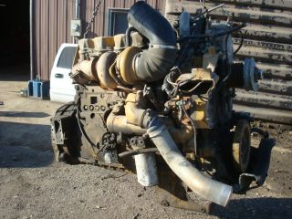 Caterpillar CAT 3406 375 HP Semi Tractor Trailer Engine Assembly ave