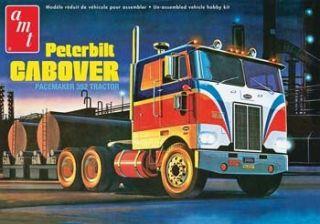 AMT 759 Plastic Model Kit Peterbilt 352 Pacemaker COE Tractor Truck