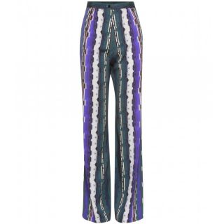 Peter Pilotto   SILK PALAZZO TROUSERS   Luxury