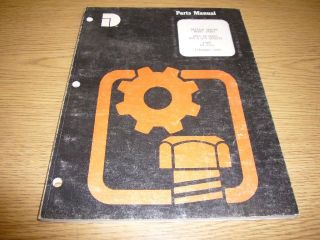 Dresser Engine Model D505T Parts Manual