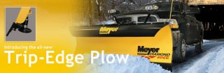 Meyer 8' Diamond Edge 2 Complete 8 Foot Truck Snow Plow System DE2 8
