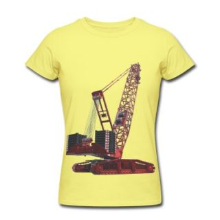 Crawler Crane 750t   Red T Shirt 11494666