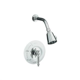 Kohler K T132 4D CP Antique Rite Temp Pressure Balancing Shower Faucet