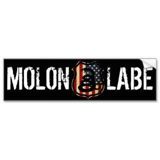 Schild, MOLON, LABE Auto Sticker