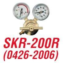 TurboTorch SKR 200R Cutskill Rear Entry Acetylene Regulator (0426 2006