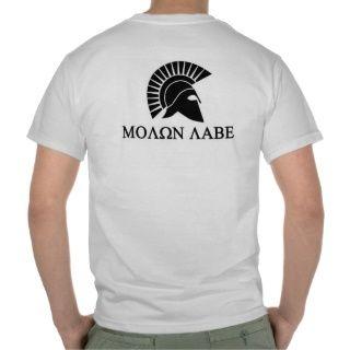 Molon Labe spartanisches T Shirt