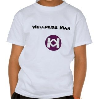 WM_chestsymbol_circle, Wellness Mann T shirts